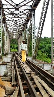 Duthawadi River RR Bridge