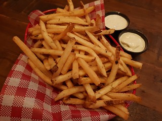 Rosemary Fries with Ranch and Aioli at Red Sparrow