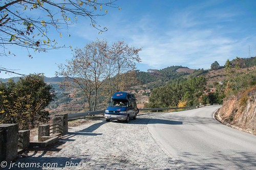 VW T4 Carthago Malibu @ Douro Valley/P