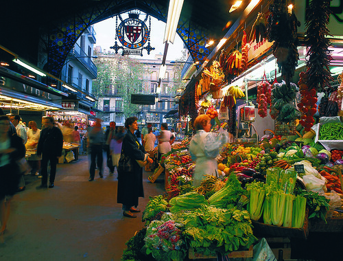 Barcelona's Mercado de la Boquerilla. From New Elections in Barcelona May Restore Tranquility and Tourism to Region