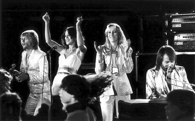1.ABBA in their heyday, image credit Torbjorn Calvero at Premium Rocketshot