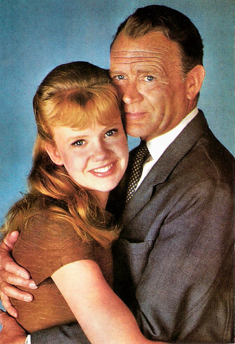 Hayley Mills and John Mills in The Chalk Garden (1964)