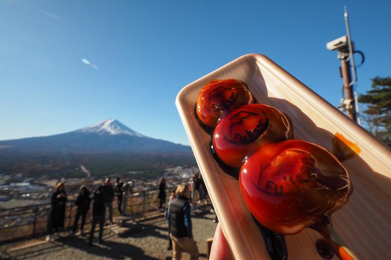 醬油糰子|富士山 Fujisan