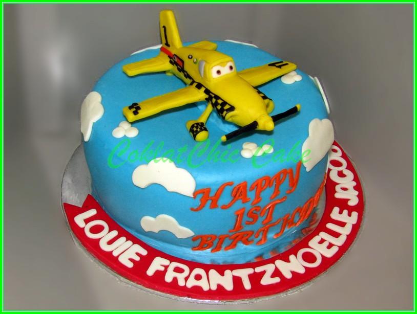 Cake Plane LOUIE 18cm