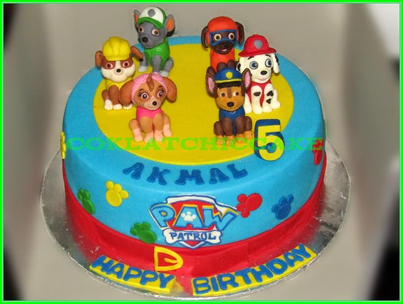 Cake Paw Patrol AKMAL 24cm