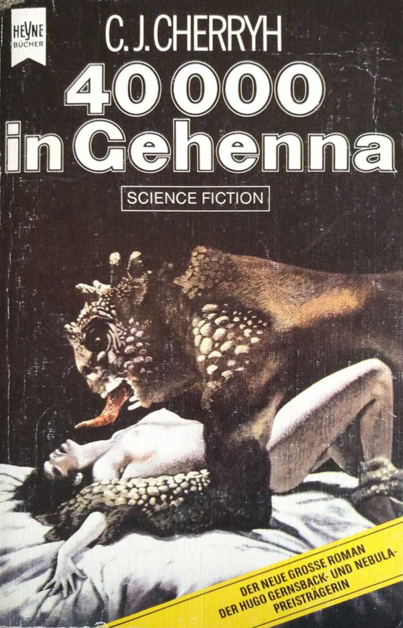 "Karel Thole - cover for C. J.  Cherryh's ""40,000 in Gehenna""  1986"
