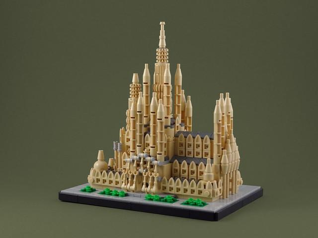 LEGO Architecture Sagrada Familia Gaudi