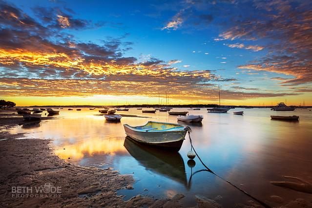 Blue & Gold Sunrise