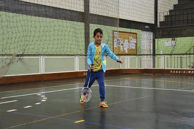 1º Mini Badminton Época 2017/18 - Calheta
