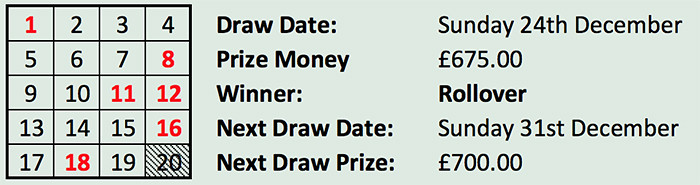 Lotto 24 Dec