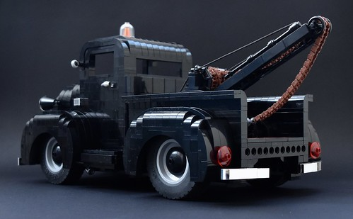 1950's COE Tow Truck