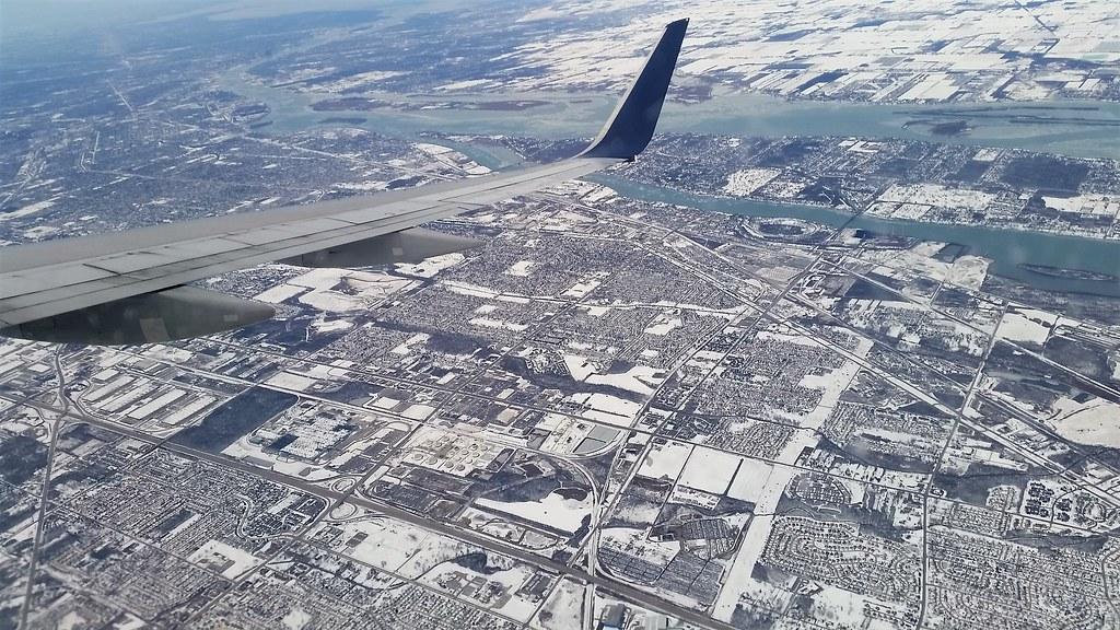 Lądowanie w Detroit