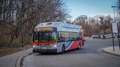 WMATA Metrobus 2016 New Flyer Xcelsior XN40 #2907
