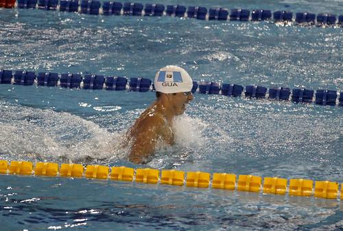 Natación cierra con record los Juegos Centroamericanos