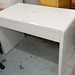 White gloss desk E100