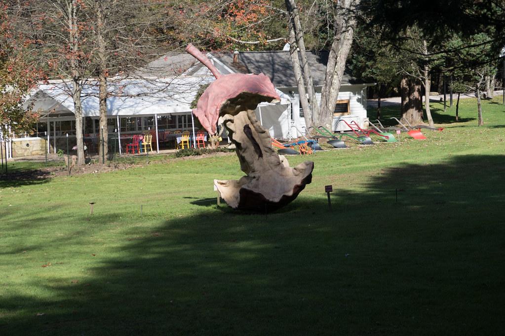 Art at Kentuck Knob grounds