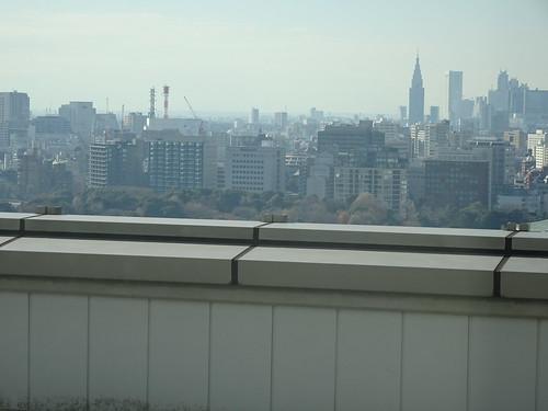 インプレスさんからの風景、新宿NTTタワーが見えます