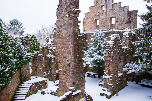 Zavelstein Castle in Winter