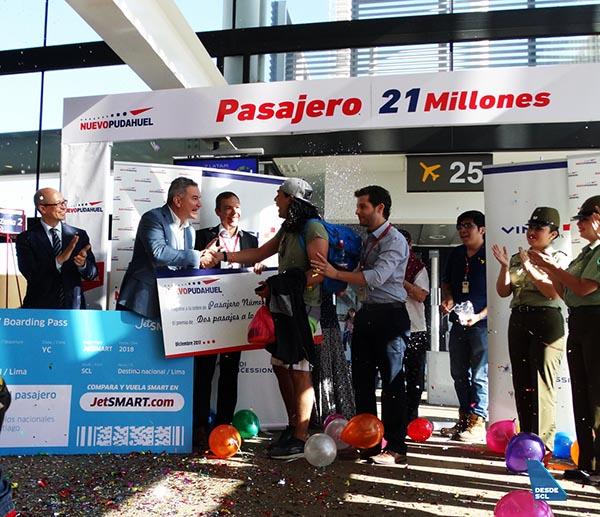 SCL Pasajero 21 millones (RD)