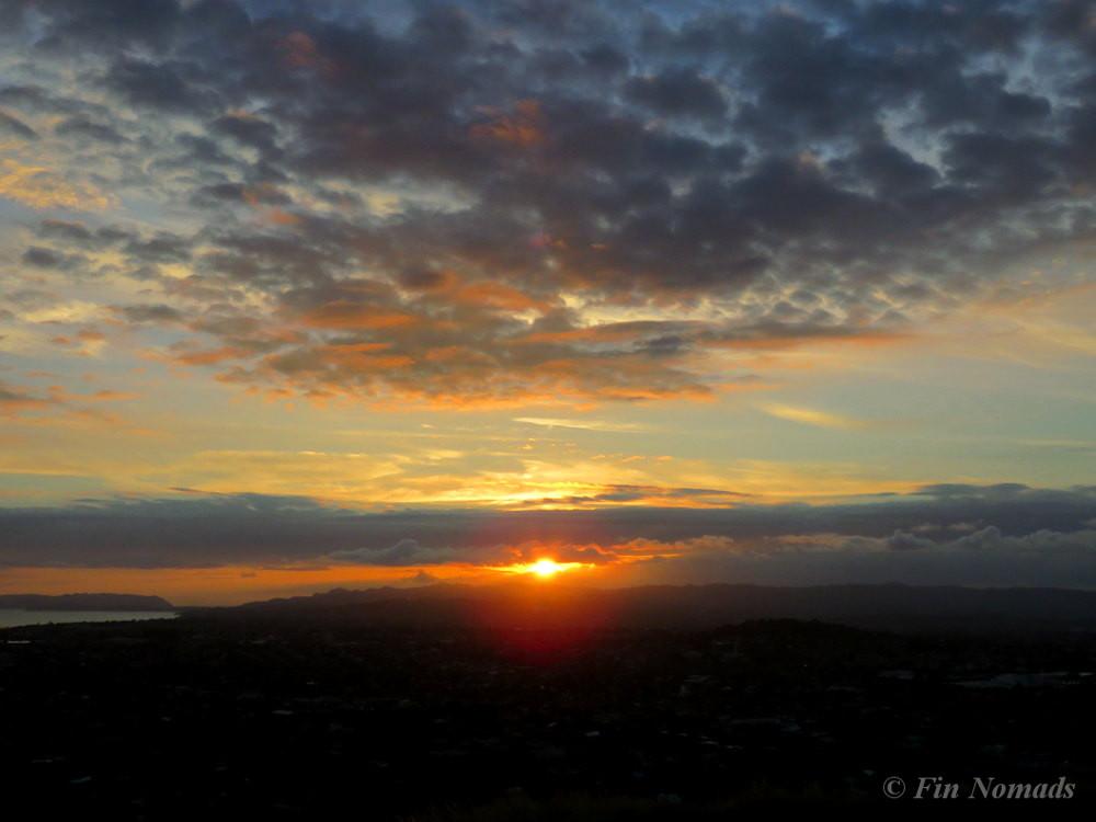 sunset Mt. Eden
