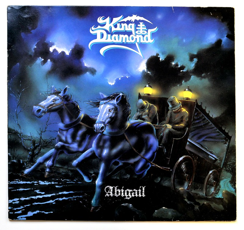 Album Diamond: Abigail OIS Danish Thrash Metal Vinyl Album