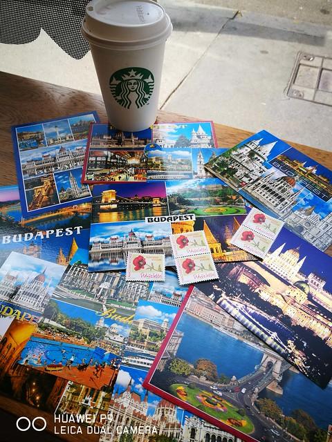 2017 Europe Budapest Postcards