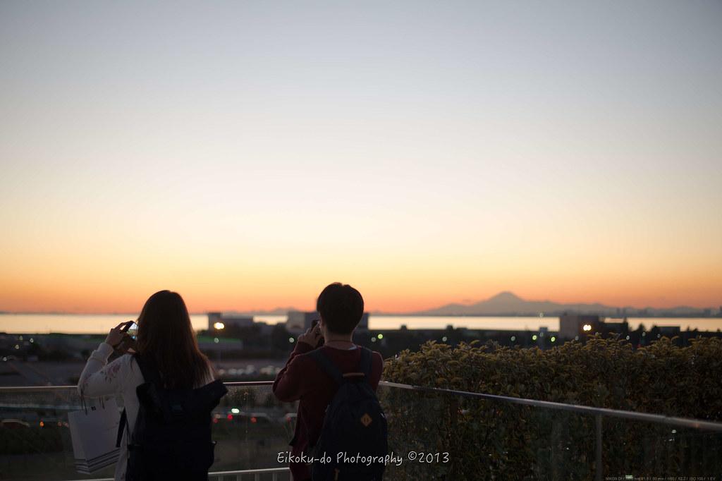 幕張の富士山
