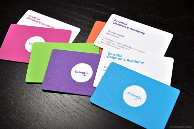 30+ ý tưởng thiết kế Business Card đầy màu sắc 30+ ý tưởng thiết kế Business Card đầy màu sắc