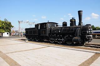 ภาพของ 125-052. osm:node=3919422317 zagreb croatia kroatien locomotive historic