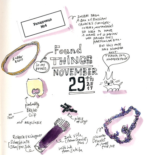 Sketchbook #110: Treasures