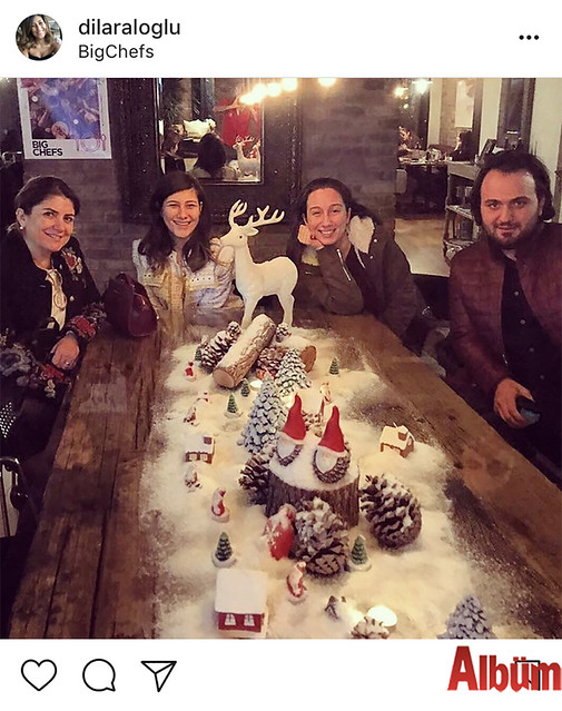 Dilara Aloğlu, NP İstanbul Hastanesi'nden doktor arkadaşlarıyla birlikte Big Chefs'te yeni yıla özel keyifli bir akşam geçirdi.