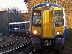 375809 and 375 number 922 Hastings to Charing Cross 1H72