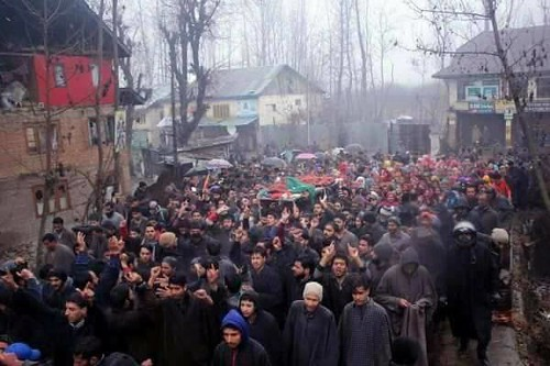 Woman among four killed by Indian troops in Kupwara 11_Dec_2017 2