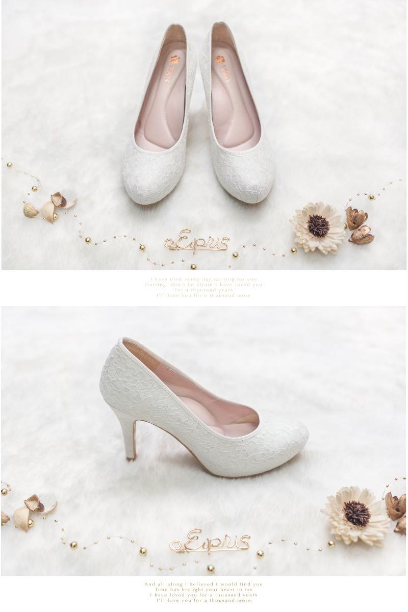 白色婚鞋新娘鞋伴娘鞋推薦顏色百搭品牌