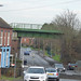 Rye Piece Ringway, Bedworth - railway bridge on the Nuneaton to Coventry line