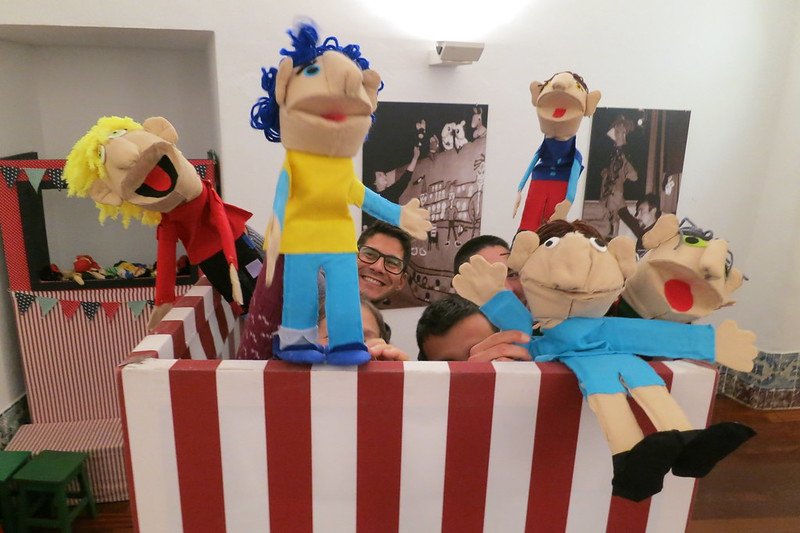 Workshop Marionetas de esponja