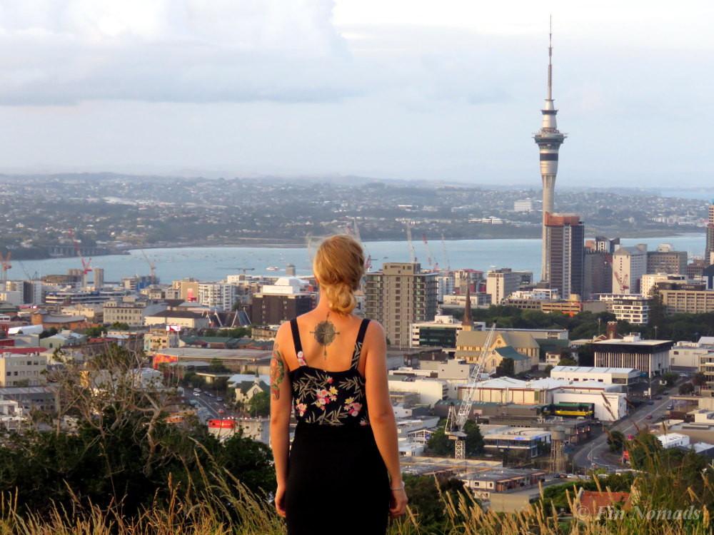 Mount Eden Auckland view