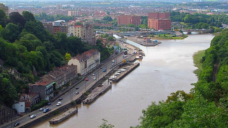 Bristol River Avon South West England
