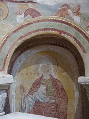 The abbey church of Saint-Savin: Axial chapel frescoes - Photo of Saint-Savin