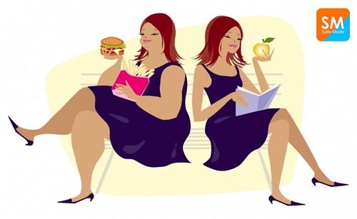 El sobrepeso esta relacionado con el tipo de alimentación