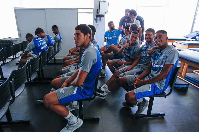 Reapresentação primeiro grupo Grêmio