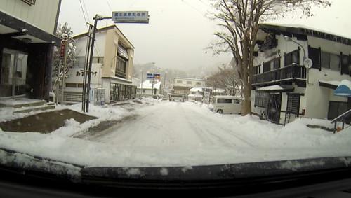 リーフの車窓から@蔵王温泉