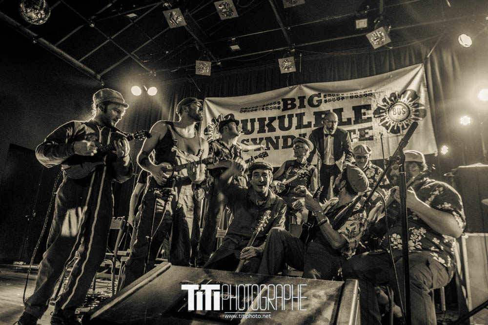 The Big Ukulele Syndicate-Grenoble-2017-Sylvain SABARD