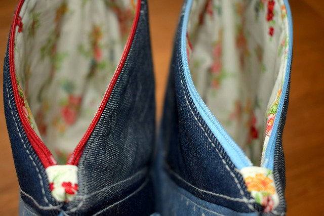 Recycled Denim Pouches