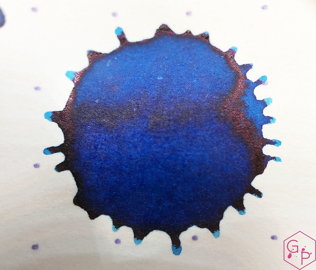 Ink Shot Review @RobertOsterInk Soda Pop Blue @PhidonPens 13
