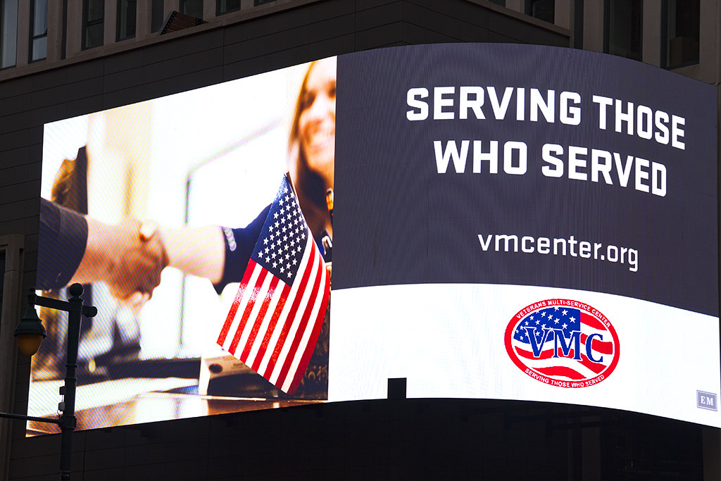 SERVING THOSE WHO SERVE--Center City