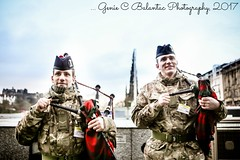 Scottish Bagpipers One ...
