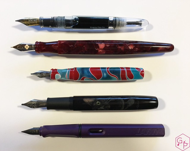 Review Franklin-Christoph Model 66 Fountain Pen Needlepoint Nib @1901FC 2