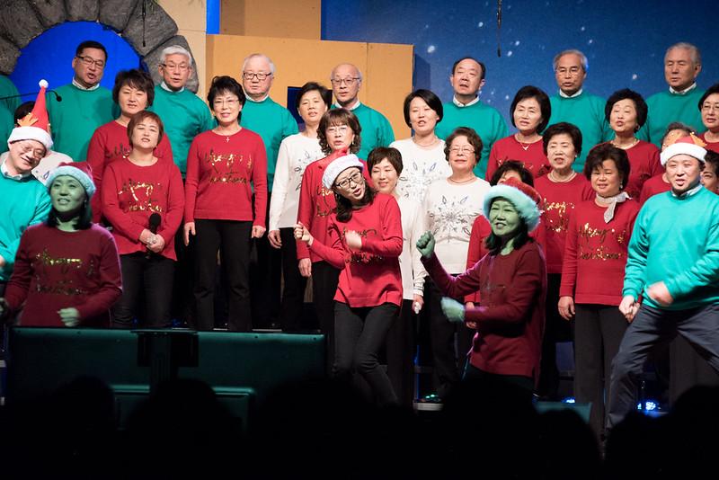 2017년도 크리스마스 주일예배의 이모저모