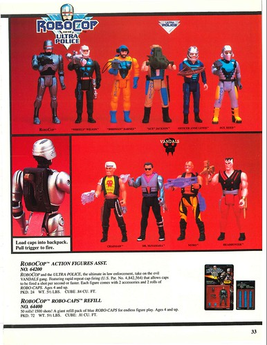 Robocop and the Ultra Police (Kenner) 1988-90 39330778371_73c9184b8a